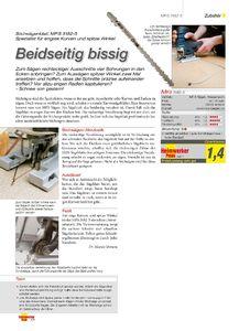 Heimwerker Praxis 3/2011 - Vorschaubild zum Download